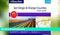 Big Deals  The Thomas Guide 2008 San Diego   Orange Counties Street Guide (San Diego and Orange