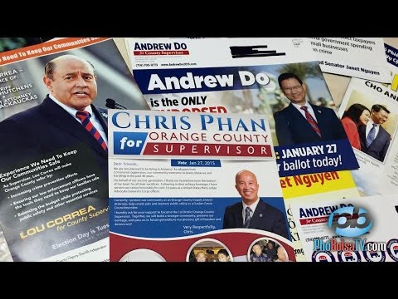 Bầu cử Giám sát viên quận Cam, ủng hộ viên nói gì về các ƯCV?
