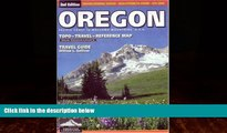 Big Deals  Oregon Topo Travel Reference Map by Imus (American Landscapes)  Full Ebooks Best Seller