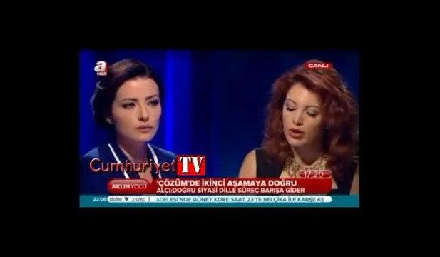 Kadri Gürsel bu sözleri söyleyen Nagehan Alçı ile bir yıl aynı programda mücadele etti