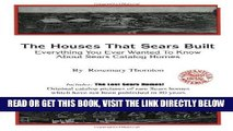 [FREE] EBOOK The Houses That Sears Built; Everything You Ever Wanted To Know About Sears Catalog