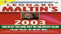 [FREE] EBOOK Leonard Maltin s Movie and Video Guide 2003 (Leonard Maltin s Movie Guide (Mass