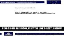[READ] EBOOK Karl Gutzkow als Pionier des literarischen Journalismus (Europäische