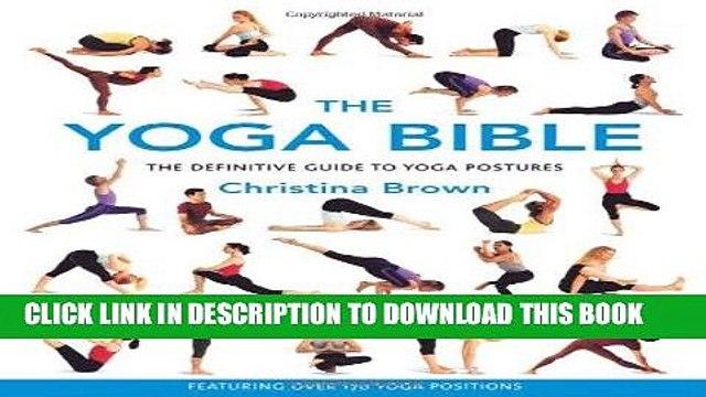 [Read] Ebook The Yoga Bible New Version