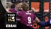 TOP 14 ‐ Essai Yann LESGOURGUES (UBB) – Bordeaux-Bègles-Paris – J10 – Saison 2016/2017