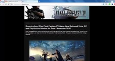 Get Free Version Final Fantasy XV New Released Pre-Activated for PC, Xbox and Playstation