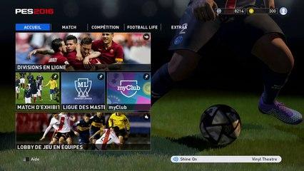 (thegamer) Pro Evolution Soccer 2016 match de compétition
