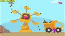 Видео про Машинки.Саго Мини: Маленькие Строители.Sago Mini Trucks and Diggers.Саго Мини Строители