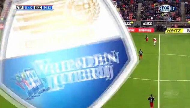 Nacer Barazite Goal HD - Utrecht2-0Excelsior 06.11.2016