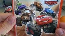 [OEUF & JOUET] Super maxi géant Kinder Surprise Disney Cars jouets et oeufs - Unboxing giant egg