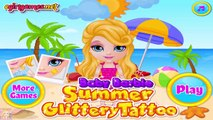 Baby Barbie Summer Glittery Tattoo - Barbie Games for Girls  #Kidsgames #Barbiegames