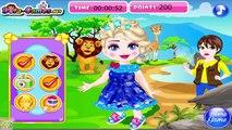 Elsa Safari Slacking - Disney Princes Elsa Games for Girls  #Kidsgames #Barbiegames