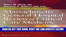 [FREE] EBOOK Massachusetts General Hospital Review of Critical Care Medicine ONLINE COLLECTION