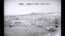 ALGER - ALGIERS 1936 مدينة الجزائر -
