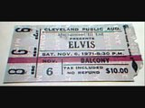 Elvis Presley November 6, 1971  Cleveland Public Hall Auditorium, Cleveland, Ohio part 2