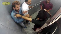 People Trapped With Killers In Lift - Caught On CCTV