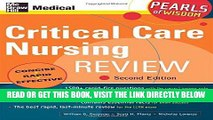 [READ] EBOOK Critical Care Nursing Review: Pearls of Wisdom, Second Edition BEST COLLECTION