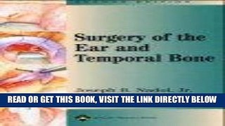 [FREE] EBOOK Surgery of the Ear and Temporal Bone ONLINE COLLECTION