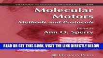 [FREE] EBOOK Molecular Motors: Methods and Protocols (Methods in Molecular Biology) BEST COLLECTION