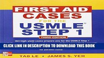 [READ] EBOOK First Aid Cases for the USMLE Step 1, Third Edition (First Aid USMLE) BEST COLLECTION