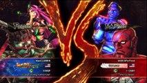 STREET FIGHTER X TEKKEN [HD] - ONLINE RANKED MATCH 222-224 (224-0 UNDEFEATED)