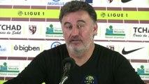 Foot - L1 - ASSE : Christophe Galtier, entraîneur de Saint-Etienne «C'est positif»