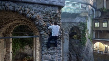 Gameplay de la version Pro de Uncharted 4 : A Thief's End