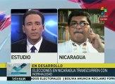 Blandino: Elección en Nicaragua apunta a reelección del pdte. Ortega