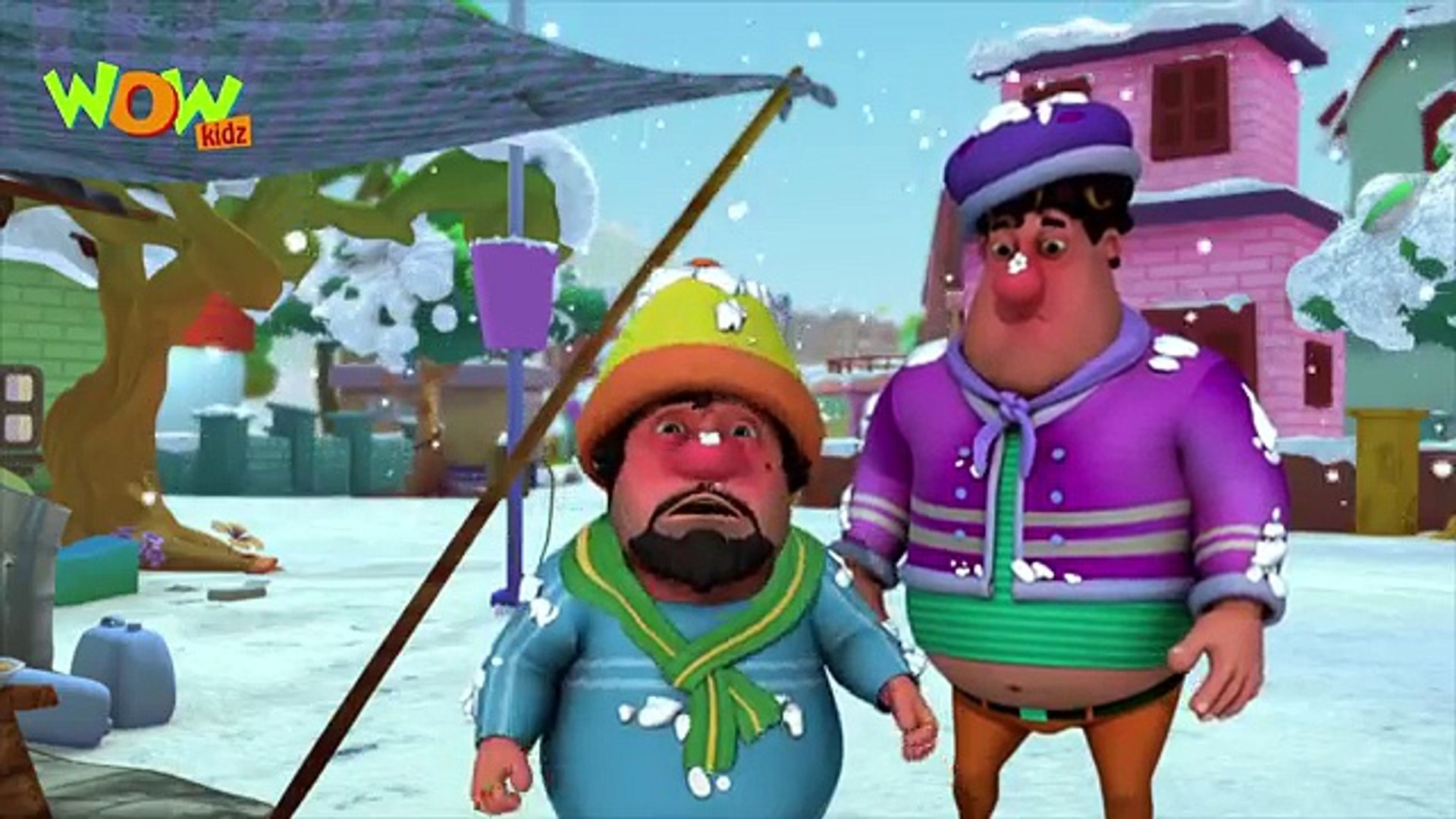 Motu Patlu in Hindi - Snow Park - 2016