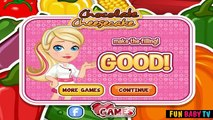 Chocolate Cheesecake - Cooking Game Video
