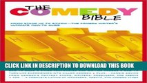 "Best Seller The Comedy Bible: From Stand-up to Sitcom--The Comedy Writer s Ultimate ""How To"" Guide"