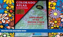 Ebook Best Deals  Colorado Atlas   Gazetteer  Buy Now