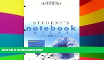 Ebook Best Deals  Hammond Student s Notebook Atlas (Hammond Student Atlases)  Most Wanted