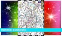 Must Have  Streetwise Paris Metro Map - Laminated Subway Paris Map   RER System for Travel -