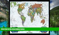 Must Have  World Decorator [Enlarged and Laminated] (National Geographic Reference Map)  Buy Now