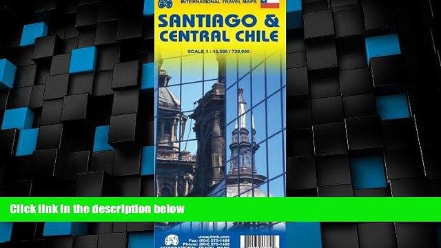 Big Sales  Santiago de Chile 1:12,500 Street Map   Central Chile 1:720,000 Travel Map