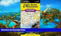 Big Deals  Cape Town and Peninsula [South Africa] (National Geographic Adventure Map)  Most Wanted