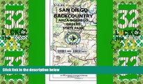 Deals in Books  Recreation Map of the San Diego Backcountry: Waterproof, synthetic paper (Tom