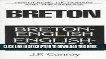 [PDF] Breton-English/English-Breton: Dictionary and Phrasebook Full Online
