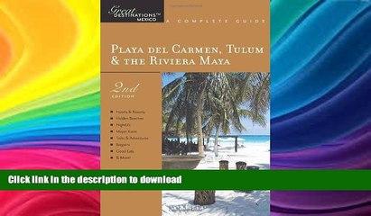 READ  Explorer s Guide Playa Del Carmen, Tulum   the Riviera Maya: A Great Destination (Second
