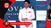 Fawad Khan To Join Politics, Salman Khan Spotted At Mumbai Airport After His Vacation