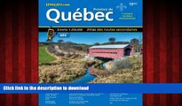 READ ONLINE Quebec Road Atlas (Mapart s Provincial Atlas) (English   French Edition) (English and