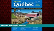 READ THE NEW BOOK Quebec Road Atlas (Mapart s Provincial Atlas) (English   French Edition)