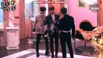 [ENG] 161107 BOMB: Jimin's best dance imitation by Jung Kook