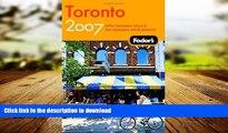 READ ONLINE Fodor s Toronto 2007: With Niagara Falls   the Niagara Wine Region (Fodor s Gold