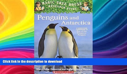 read book penguins and antarctica magic tree house research guides penguins and antarctica