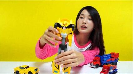 트랜스포머 범블비 옵티머스프라임 장난감 5종 Transformers Bumblebee & Optimus Prime Toys