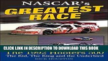 [PDF] NASCAR s Greatest Race: The 1992 Hooters 500 Popular Colection