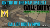 "Call Of Duty: Modern Warfare Remastered - On Top of District - ""COD MW Remastered Glitches"""