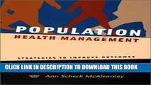 [PDF] Population Health Management: Strategies to Improve Outcomes Full Collection